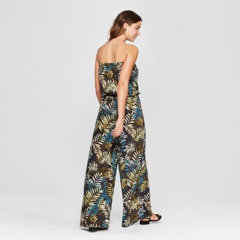 9c6f170ea0b Women s Floral Print Jumpsuit - Chiasso - Sage   Target