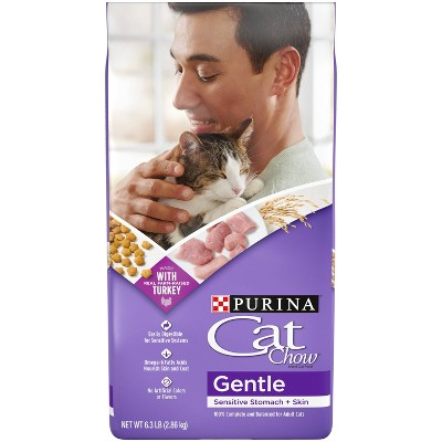 Purina Cat Chow Gentle with Chicken Adult Complete & Balanced Dry Cat Food - 6.3lbs