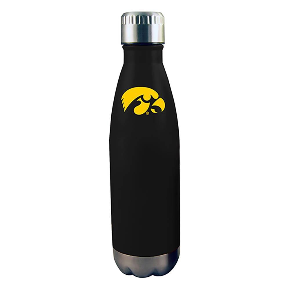 NCAA Iowa Hawkeyes Stainless Steel Water Bottle