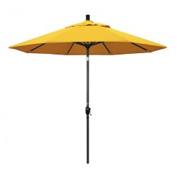 9' Patio Umbrella in Sunflower Yellow - California Umbrella