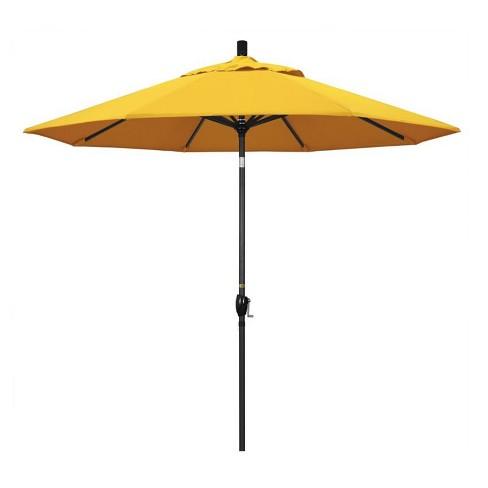 9 Patio Umbrella In Sunflower Yellow California Target