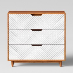 Touraco Dresser White Brown - Opalhouse™