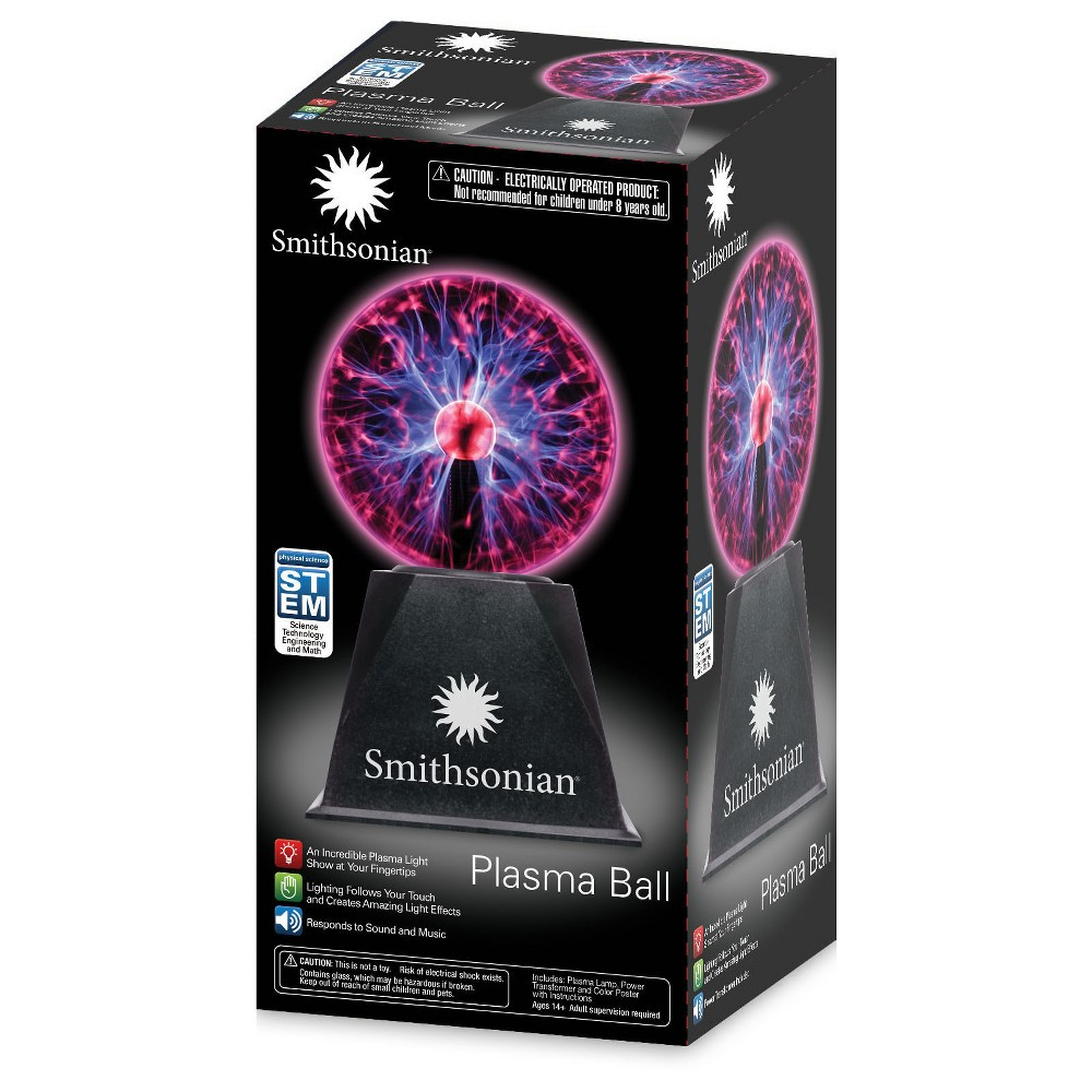 Smithsonian Plasma Ball, Science Kits