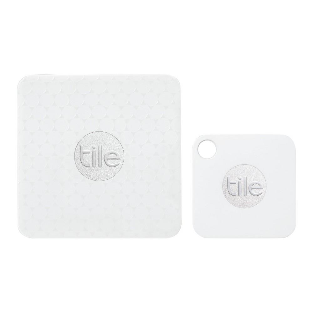 Tile Mate + Tile Slim Combo Pack 4pk - White