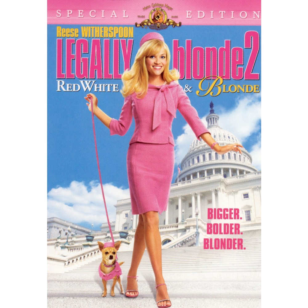 Legally Blonde 2 Red White 38 Blonde Special Edition Dvd