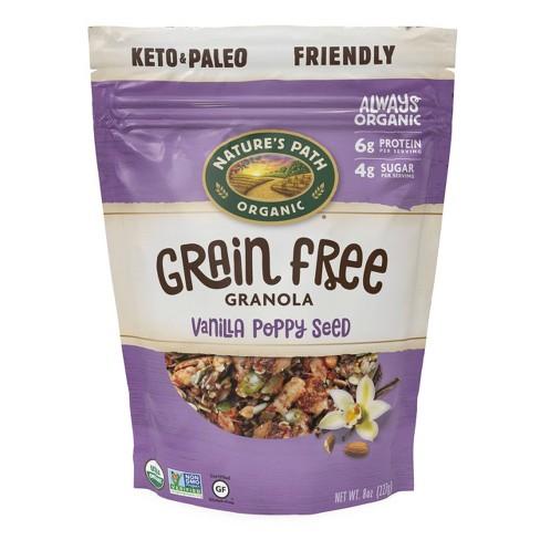 Nature's Path Grain Free Granola Vanilla Poppy Seed 8oz - image 1 of 4