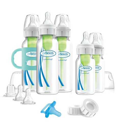 Dr. Brown's Options+ Anti-Colic Baby Bottle Essentials Gift Set - 0-6 Months - image 1 of 4