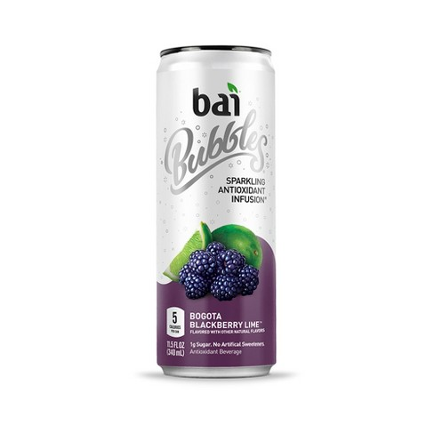Bai Bubbles Bogota Blackberry Lime - 11.5 fl oz Can - image 1 of 3