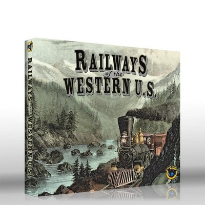 Railways of the Western U.S. Expansion (2019 Edition) Board Game