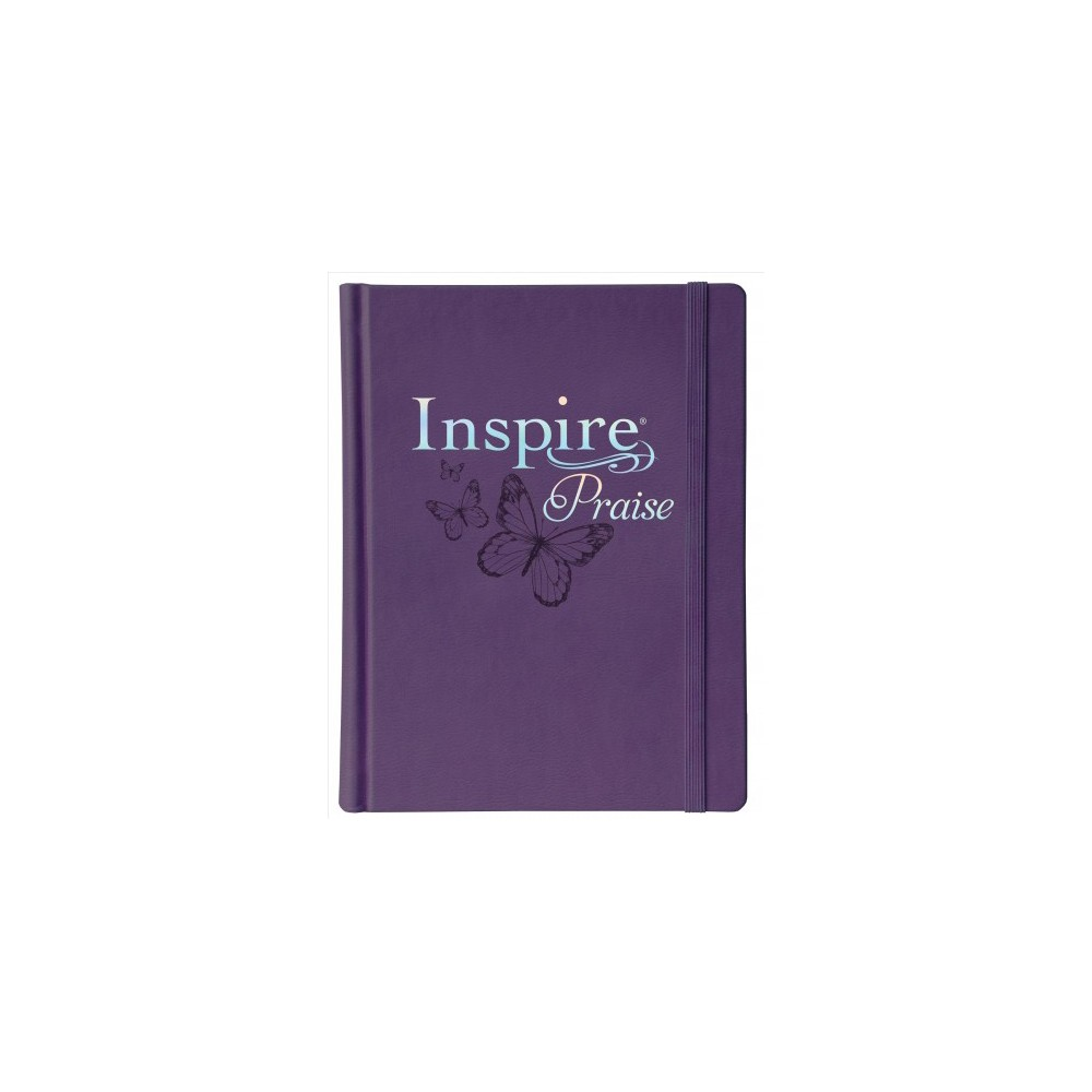 Inspire Praise : New Living Translation, Coloring & Creative Journaling - (Hardcover)
