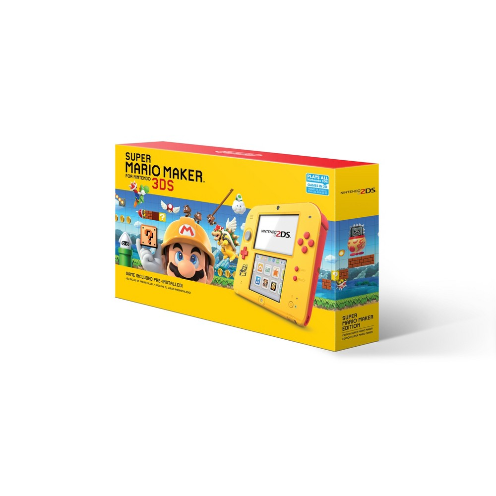 Nintendo 2DS Super Mario Maker Edition Nintendo 2DS Super Mario Maker Edition Color: MultiColored. Gender: unisex.