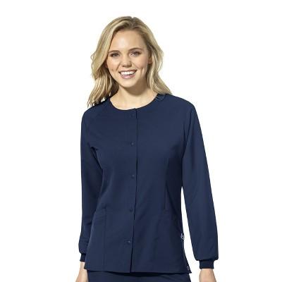 WonderWink Women's Crew Neck Warm Up Jacket