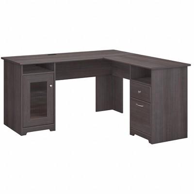 Cabot 60W L Shaped Computer Desk - Bush Furniture