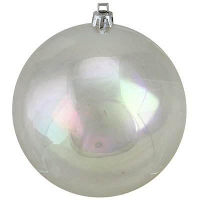 "Northlight Clear Transparent Shatterproof Christmas Ball Ornament 4"" (100mm)"