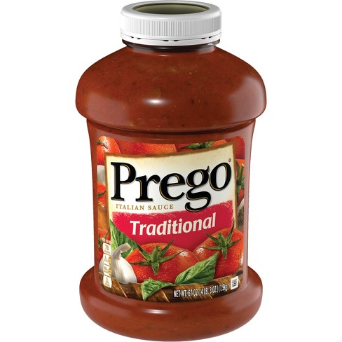 Prego Traditional Italian Pasta Sauce