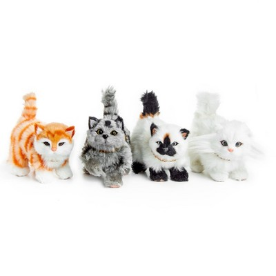The Queen's Treasures Set of 4 Realistic Kitty Cat Pets For 18 Inch  Dolls