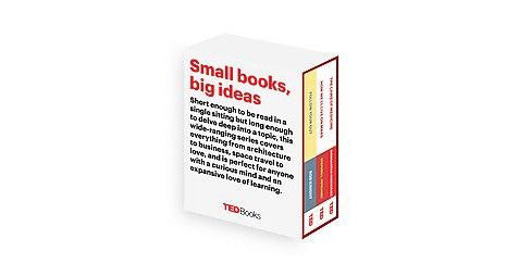 Ted Books: Small books, Big Ideas. : Follow Your Gut / The Laws of Medicine / How We'll Live on Mars - image 1 of 1