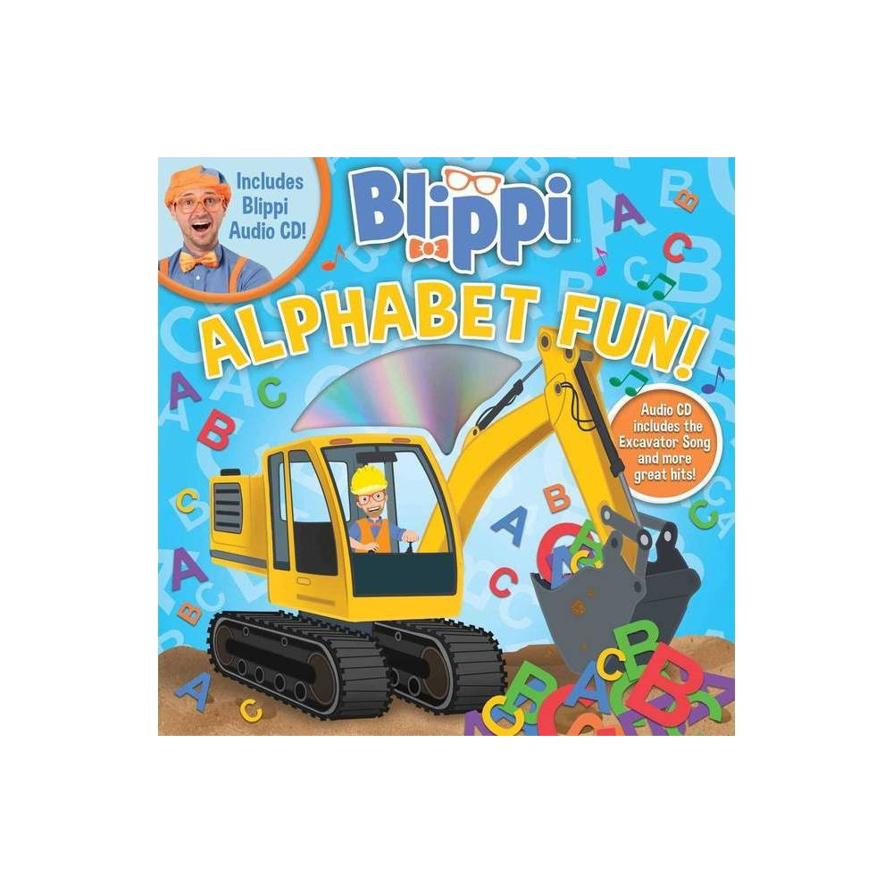 Blippi Alphabet Fun 8x8 With Cd Paperback
