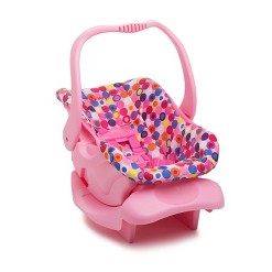 Joovy Baby Doll Car Seat - Pink Dot