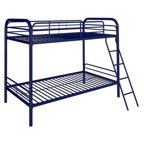Evan Twin Over Twin Metal Bunk Bed Room Joy Target