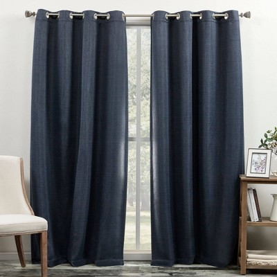 "84""x52"" Bastian Room Darkening Curtain Panel - Exclusive Home"