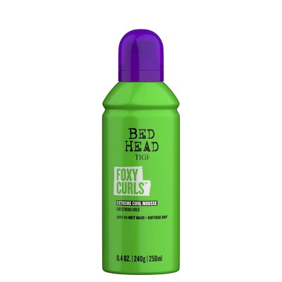 TIGI Bed Head Foxy Curls Curly Hair Mousse for Strong Hold - 8.4oz