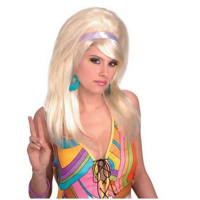 Forum Novelties 60's Mod Blonde Wig Adult