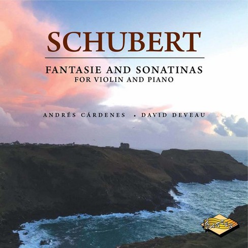 Andres Cardenes - Schubert:Fantasie And So (CD) - image 1 of 1