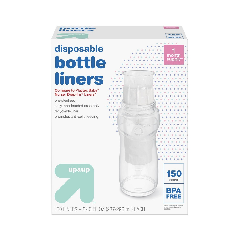 Image of Bottle Liner 150ct - Up&Up