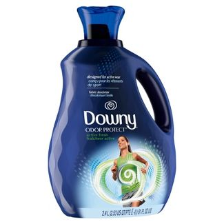 Downy Odor Protect Active Fresh Liquid Fabric Deodorizer and Fabric Conditioner - 81 fl oz