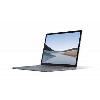 "Microsoft Surface Laptop 3 13.5"" Intel Core i5 8GB RAM 128GB SSD Platinum with Alcantara - 10th Gen i5-1035G7 Quad Core - Touchscreen"