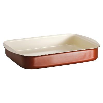 Tramontina Style Ceramica 14 X10  Aluminum Roasting Dish - Metallic Copper