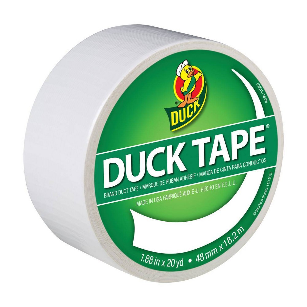 Duck 1 88 34 X 20yd Duct Industrial Tape White
