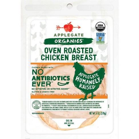 Applegate Organic Roasted Chicken Breast - 6oz - image 1 of 4