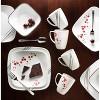 Corelle Square 16pc Dinnerware Set Hanami Garden - image 2 of 3