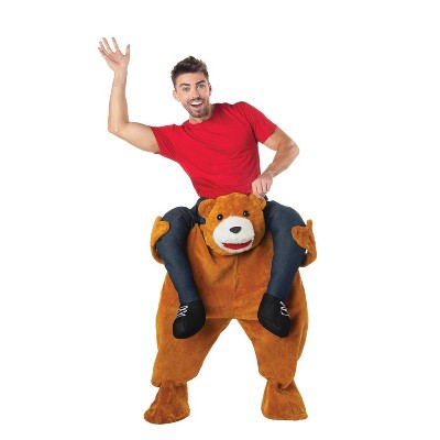 Adult Carry Me Teddy Bear Halloween Costume