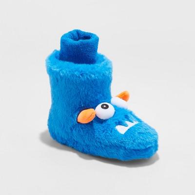 c3711bd67b7 Toddler Boys  Gilberto Monster Bootie Slipper – Cat   Jack™ Blue L(9 ...