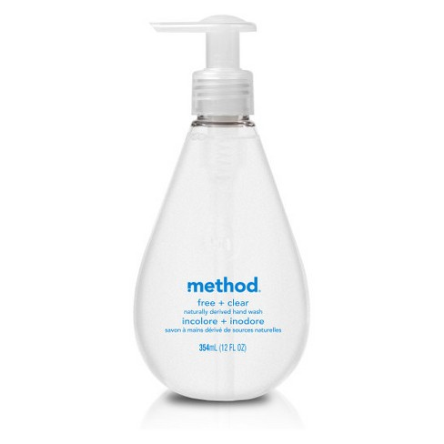 Method Free + Clear Gel Hand Soap - 12oz - image 1 of 2