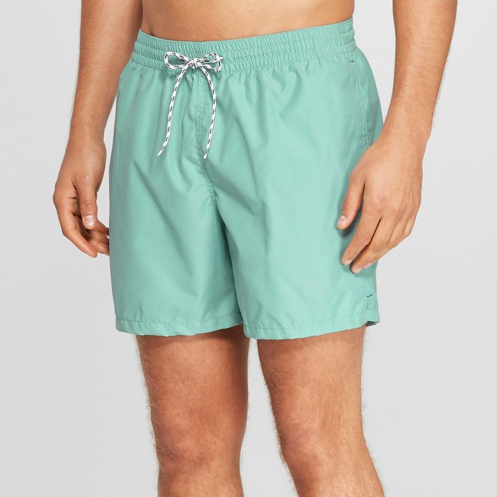 Men's 6 Swim Trunks - Goodfellow & Co Mint (Green) 2XL