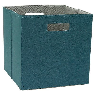 Cube Storage Bin Dark Teal 13  - Threshold™