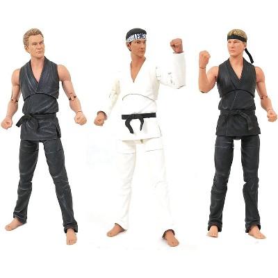 Diamond Select Karate Kid Cobra Kai Exclusive 7 Inch Action Figure Box Set