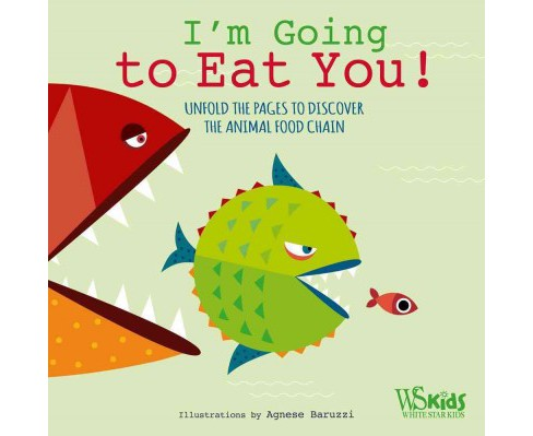 I'm Going to Eat You! : Unfold the Pages to Discover the Animal Food Chain (Hardcover) - image 1 of 1
