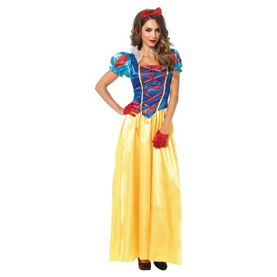 Adult Snow White 2pc Halloween Costume
