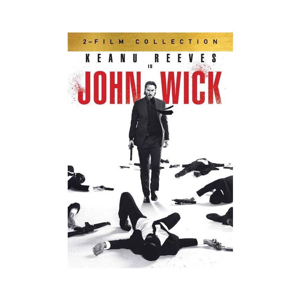 John Wick 1 And 2 Dvd
