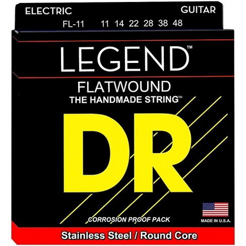 DR Strings Legend Extra Life Flatwound Electric Guitar Strings - image 1 of 1