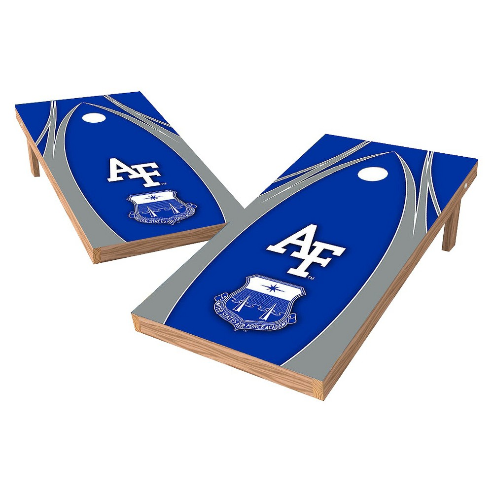 Air Force Falcons Wild Sports 2' x 4' V Logo Design Authentic Cornhole Set