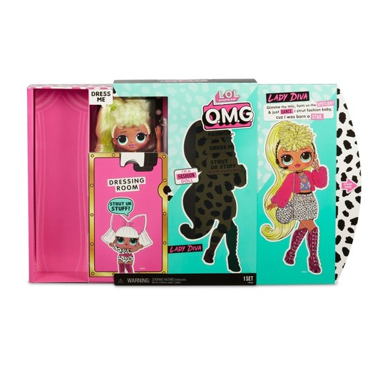 L.O.L. Surprise! O.M.G. Lady Diva Fashion Doll with 20 Surprises image number null