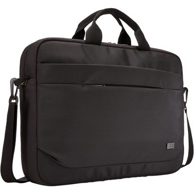 "Case Logic Advantage ADVA-116 BLACK Carrying Case (Attaché) for 10"" to 16"" Notebook - Black - Polyester - Shoulder Strap, Luggage Strap, Handle"