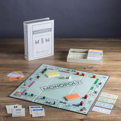 Monopoly (Vintage Bookshelf Edition) Board Game