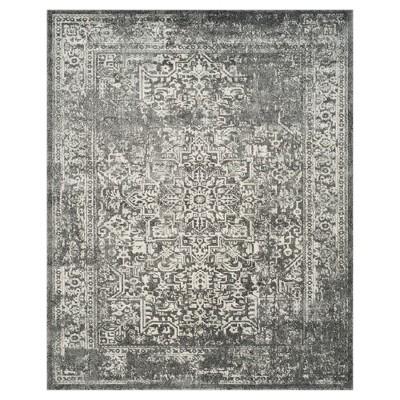 Evoke Rug - Grey/Ivory - (8'x10')- Safavieh